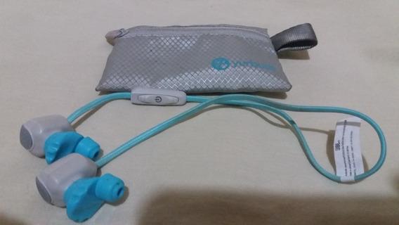 Fone Jbl Yurburds Leap Bluetooth - Branco/ Azul( Original )