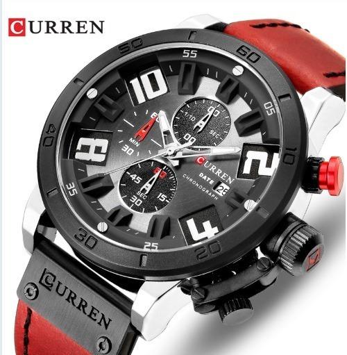 Liquidação Relógio Masculino Curren8312 Cronógrafo Funcional