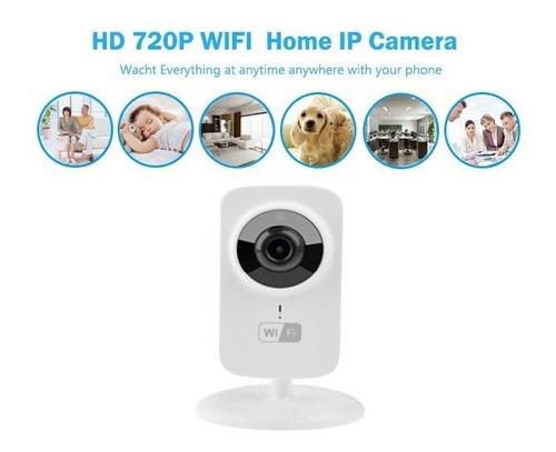 MEISI Mini C/ámaras IP Inal/ámbricas de 1080P C/ámaras de Vigilancia para Interiores Y Exteriores C/ámaras IP de Visi/ón Nocturna para Seguridad en El Hogar