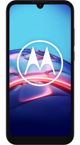 Celular Libre E6s Gris 6,1  32gb Motorola