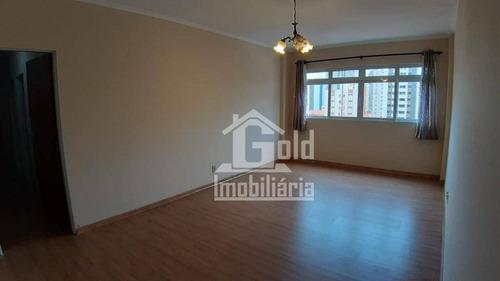 Imagem 1 de 21 de Apartamento Com 3 Dormitórios À Venda, 109 M² Por R$ 350.000,00 - Centro - Ribeirão Preto/sp - Ap4263