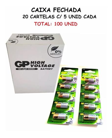 20 Cartelas:100 Baterias Gp Ultra High Voltage Alcalina 23a
