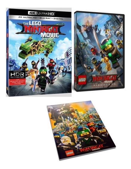 Lego Ninjago Jogo (pc) + Filme + Poster - Frete Grátis