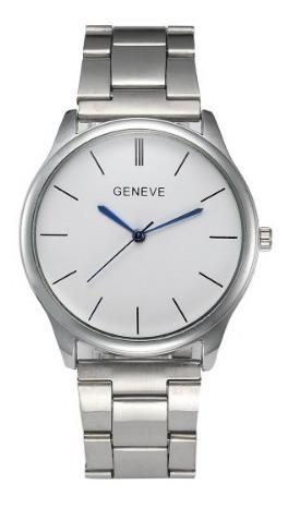 Relógio Geneve Prata