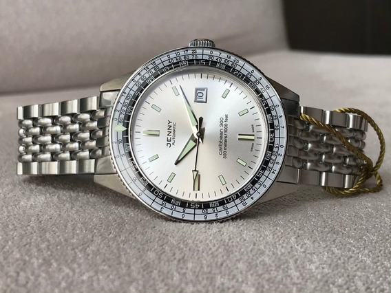 Relógio Jenny Caribbean 300 Re-edition Automatic Limited Ed.