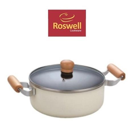 Cacerola N°24 Roswell Calida Wood Teflon Antiadherente