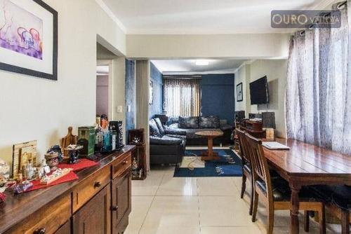 Apartamento Duplex Com 2 Dormitórios À Venda, 100 M² Por R$ 590.000,00 - Tatuapé - São Paulo/sp - Ad0038