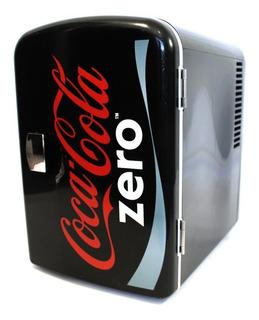 Mini Enfriador Minibar Frigobar 4 L Coca Cola Zero Kwcze