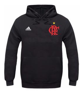 Blusa Moletom Flamengo Futebol Time Casaco Rubro Promoção