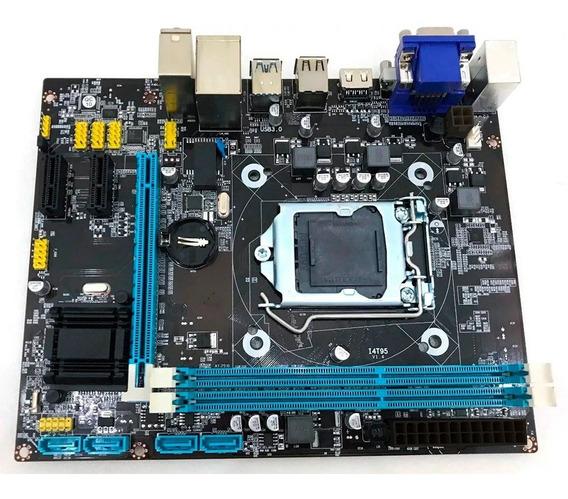 Placa Mãe Brx H81 Intel Lga 1150 4ª Geração Ddr3 X16