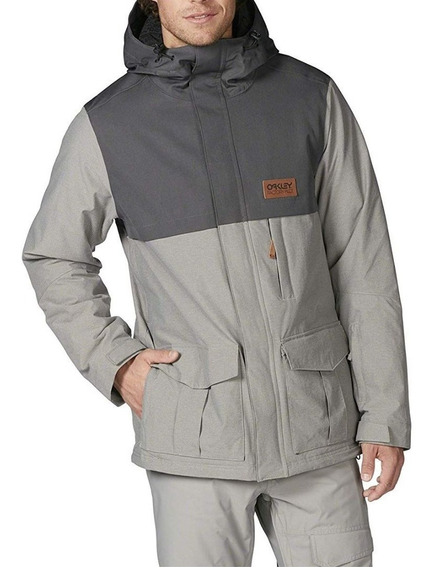 Oakley Campera Impermeable Gris