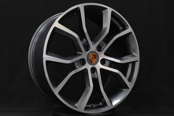 4 Roda Aro 21 New Cayenne 5x130 Porsche Cayman Panamera Vw Touareg Vt501 2 Tala Grafite Diamantado Vittoria