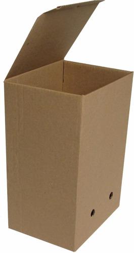100 X Caja Para Archivos X200 Con Rótulo Reglamentaria C720