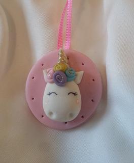 75 Corsage Distintivo Recuerdo Baby Shower Pony Unicornio