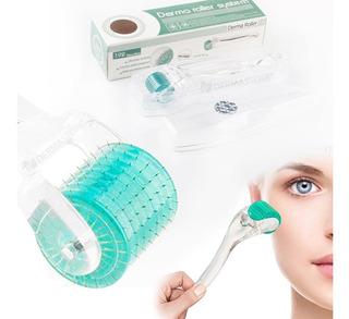 Dermaroller Drs 192 Premium Titanio Mesoroller Cuerpo Facial