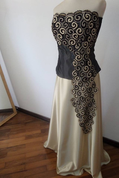 Vestido De Fiesta, Madrina. Dos Piezas