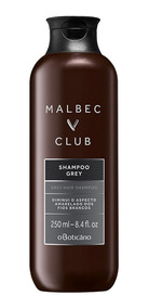 Malbec Club Shampoo Grey 250ml