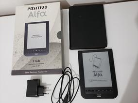 Positivo Alfa Leitor Eletrônico E-reader 2gb