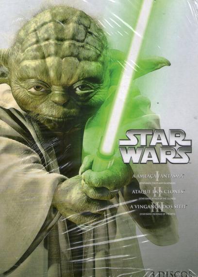 Box Star Wars - 3 Discos - Novo Lacrado***