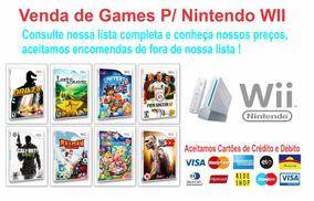 3 Jogos Patch Nintendo Wii A Sua Escolha Nintendo Wii