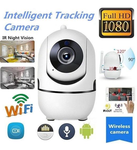 Ip Sem Fio Wifi Hd Ir Corte Casa Câmera Segurança 1080 P 2