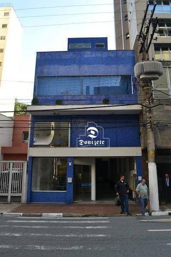 Prédio À Venda, 253 M² Por R$ 3.700.000,10 - Centro - Santo André/sp - Pr0063