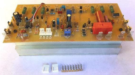 Placa De Áudio, 300w/4 Ohms, Com Proteção Total