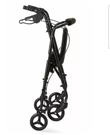 Andadera Caminador Rollator Medline Ortopedica Plegable Envi