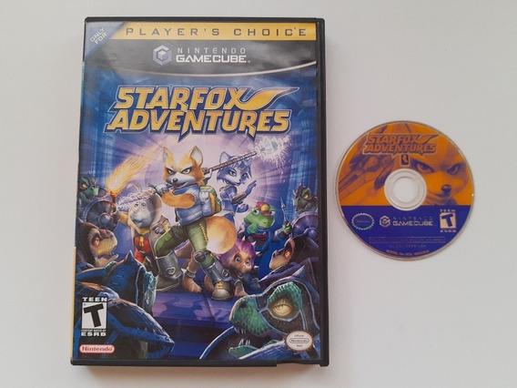 Starfox Adventures Original Americano Completo! Raridade!