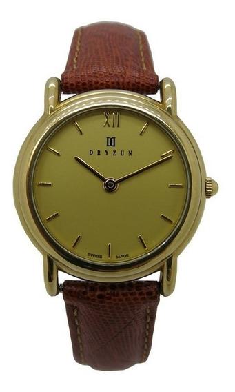 Relógio Dryzun Classic Ouro Amarelo