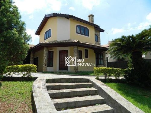 Imagem 1 de 30 de Casa Com 3 Dormitórios À Venda, 298 M² Por R$ 1.200.000,00 - Condomínio Campos De Santo Antônio - Itu/sp - Ca1907