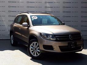 Volkswagen Tiguan 2015 1.4 Turbo Tsi 6 Dsg Beige (356)