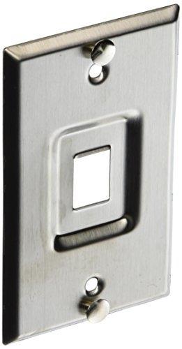 Leviton 4108w1sp Quickport Telephone Wall Jack Puerto Empotr