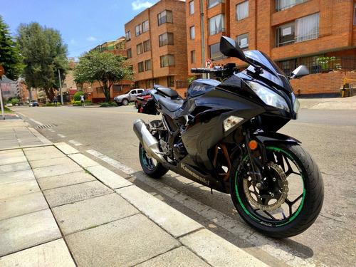 Kawasaki Ninja 300 Modelo 2014 Hermosa