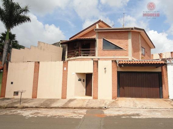 Casa Residencial Para Locação, Loteamento Santa Rosa, Piracicaba. - Ca1076