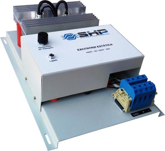 Regulador Excitatriz Para Gerador Tipo Escova Até 140 Kva