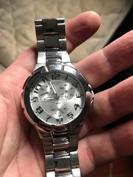 Relógio Guess - Original Prateado - Na Caixa