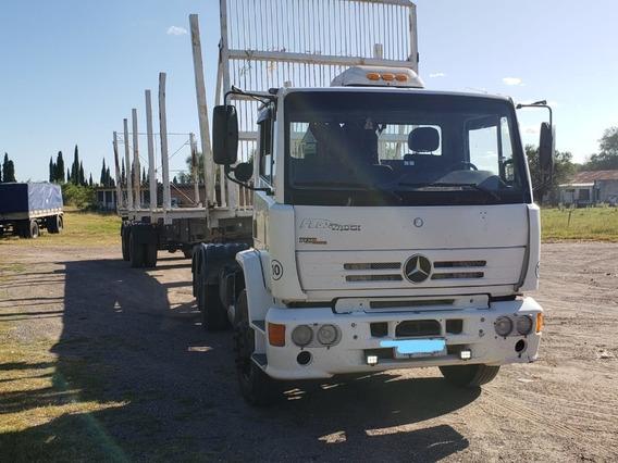 Tractor Mercedes Mas Forestal Randon