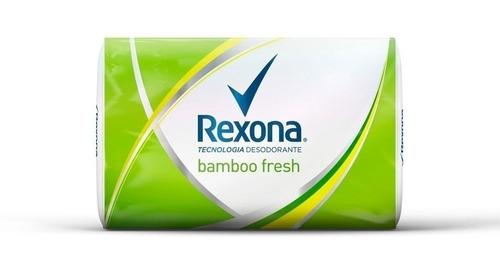 Jabon De Tocador Refrescante Rexona 125 G Bamboo Fresh