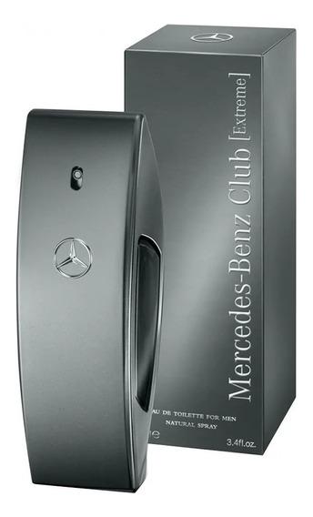 Perfume Mercedes Benz Club Extreme 100ml Original 12x S Juro
