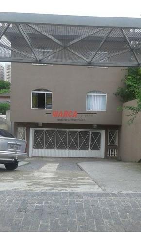Imóvel Comercial E Residencial Em Sbc, Com 613 M², 3 Andares, 9 Salas, Vaga Para 12 Autos, Trifásico - Ma2943
