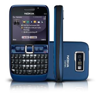Nokia E63 3g Wifi Bluetooth Com Headset - Desbloqeuado