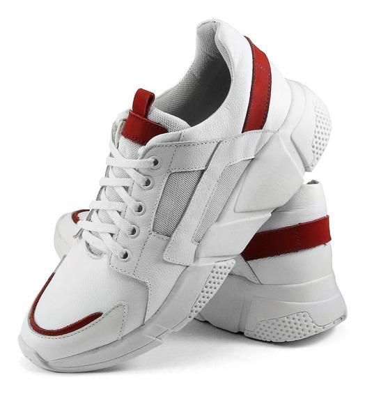 Tênis Unissex Disruptor Gm Shoes Linha Exclusiva Em Couro