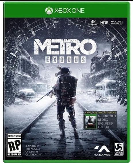 Metro Exodus Xbox One Mídia Física