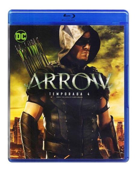Arrow Dc Cuarta Temporada 4 Cuatro Blu-ray