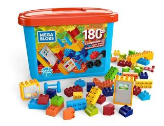 Mega Bloks Mega Caja De 180 Mini Bloques