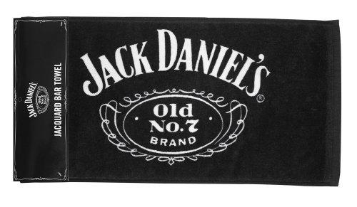 Imagen 1 de 2 de Jack Daniel's Licensed Barware Cartouche Bar Towel.