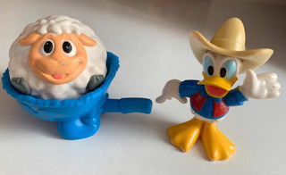 Fisher Price Figura Pato Donald Granjero Disney Mickey Mouse