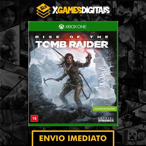 Rise Of Tomb Raider Xbox One Midia Digital + 1 Jogo Grátis