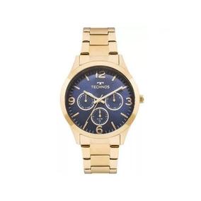 Relógio Technos Feminino Elegance Dourado 6p29ajh/4a